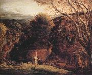 Samuel Palmer Landscape-Twilight oil painting picture wholesale